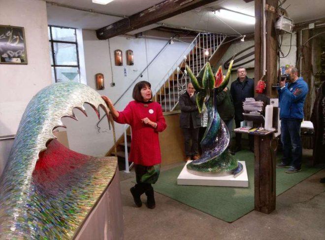 exhibition by mosaicmetalart